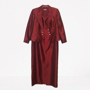 Michaelangelo  Long Dress Cocktail w/ Jacket